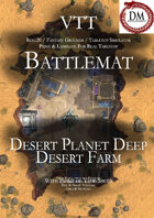VTT Battlemap -  Desert Planet Deep Desert Farm