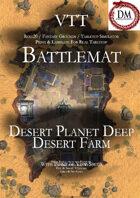 VTT Battlemap -  Desert Planet Deep Desert Farm