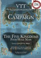 The Five Kingdoms - VTT Campaign Maps [BUNDLE]