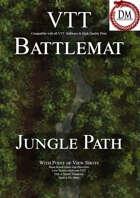 VTT Battlemap - Jungle Path