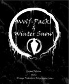 Wolf-Packs and Winter Snow - Revised