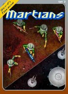 Sci-Fi Tokens Set 2, Martians