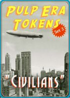 "Pulp Era Tokens Set 3: ""Civilians"""