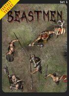 Fantasy Tokens Set 1: Beastmen
