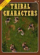 Fantasy Tokens Set 6: Tribal Characters