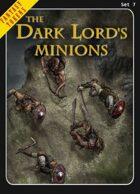 Fantasy Tokens Set 7: The Dark Lord's Minions