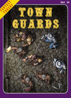 Fantasy Tokens Set 14: Town Guards