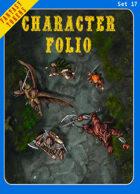 Fantasy Tokens Set 17: Character Folio
