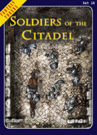 Fantasy Tokens Set 18: Soldiers of the Citadel