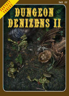Fantasy Tokens Set 22: Dungeon Denizens 2