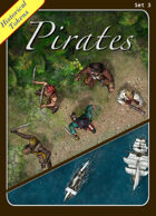 Historical Tokens Set 3, Pirates