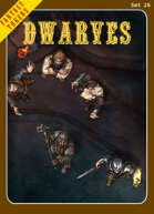 Fantasy Tokens Set 26: Dwarves
