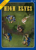Fantasy Tokens Set 32: High Elves