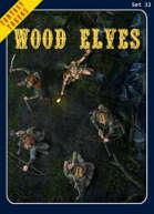 Fantasy Tokens Set 33: Wood Elves