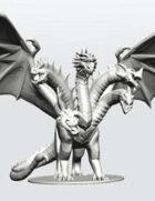 Tiamat the Queen of Chromatic Dragons!
