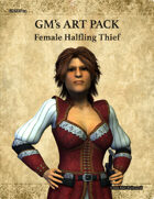 GMART114 Female Halfling Thief