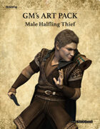 GMART113 Male Halfling Thief