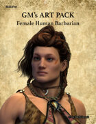 GMART106 Female Human Barbarian
