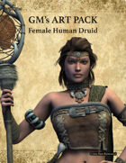 GMART178 Female Human Druid