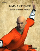 GMART211 Male Human Monk