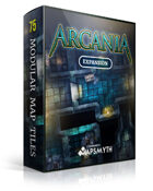 MapSmyth Maps: ARCANIA - Modular Dungeon Tiles for VTT