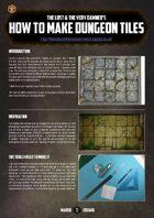 The Golden D6 #2 – Dungeon Tiles tutorial