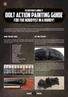 The Golden D6 #2 – Bolt Action painting tutorial
