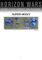 Horizon Wars: Superheavy