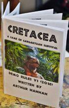 Cretacea: Demo Game (Dinosaurs!)