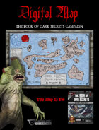 "DIGITAL POSTER MAP - THE BOOK OF DARK SECRETS - 18"" x 12"" in 4 Parts"
