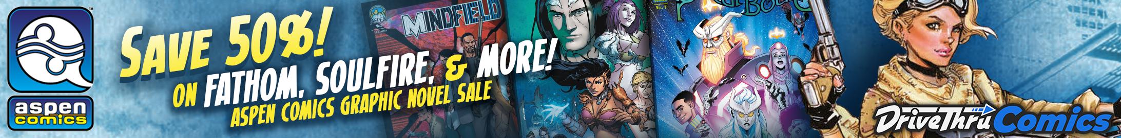 Aspen Comics Sale at DriveThruComics