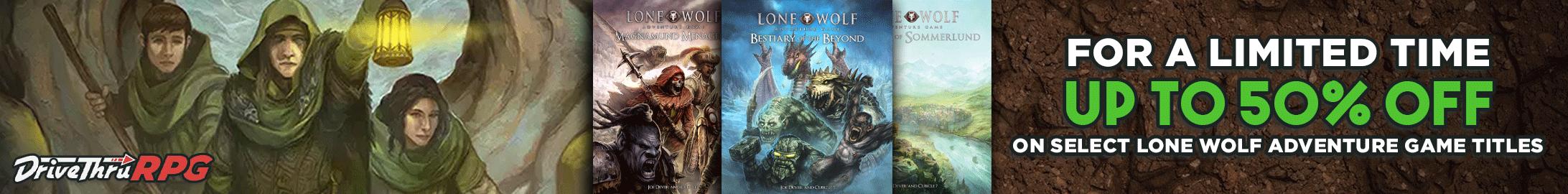 Lone Wolf Last Chance Banner