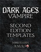 Dark Ages: Vampire Second Edition Templates