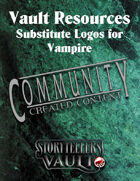 Vault Resources: Substitute Logos for Vampire