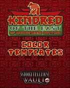 Kindred of the East Color Template (InDesign)