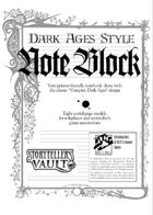 Dark Ages Style NoteBlock