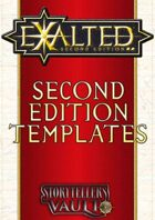 Exalted 2nd Edition Templates