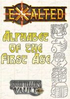 Exalted: Alphabet of the First Age