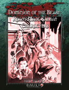 Dominion of the Beast - Ready Made Sabbat Characters