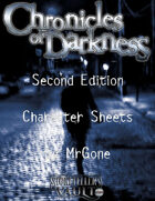 MrGone's Chronicles of Darkness Second Edition Character Sheets