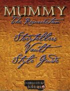 Mummy: The Resurrection Storytellers Vault Style Guide
