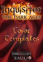 Inquisitor: The Dark Ages Color Templates