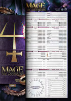 Mage the Ascension - Character Sheet [Revised]