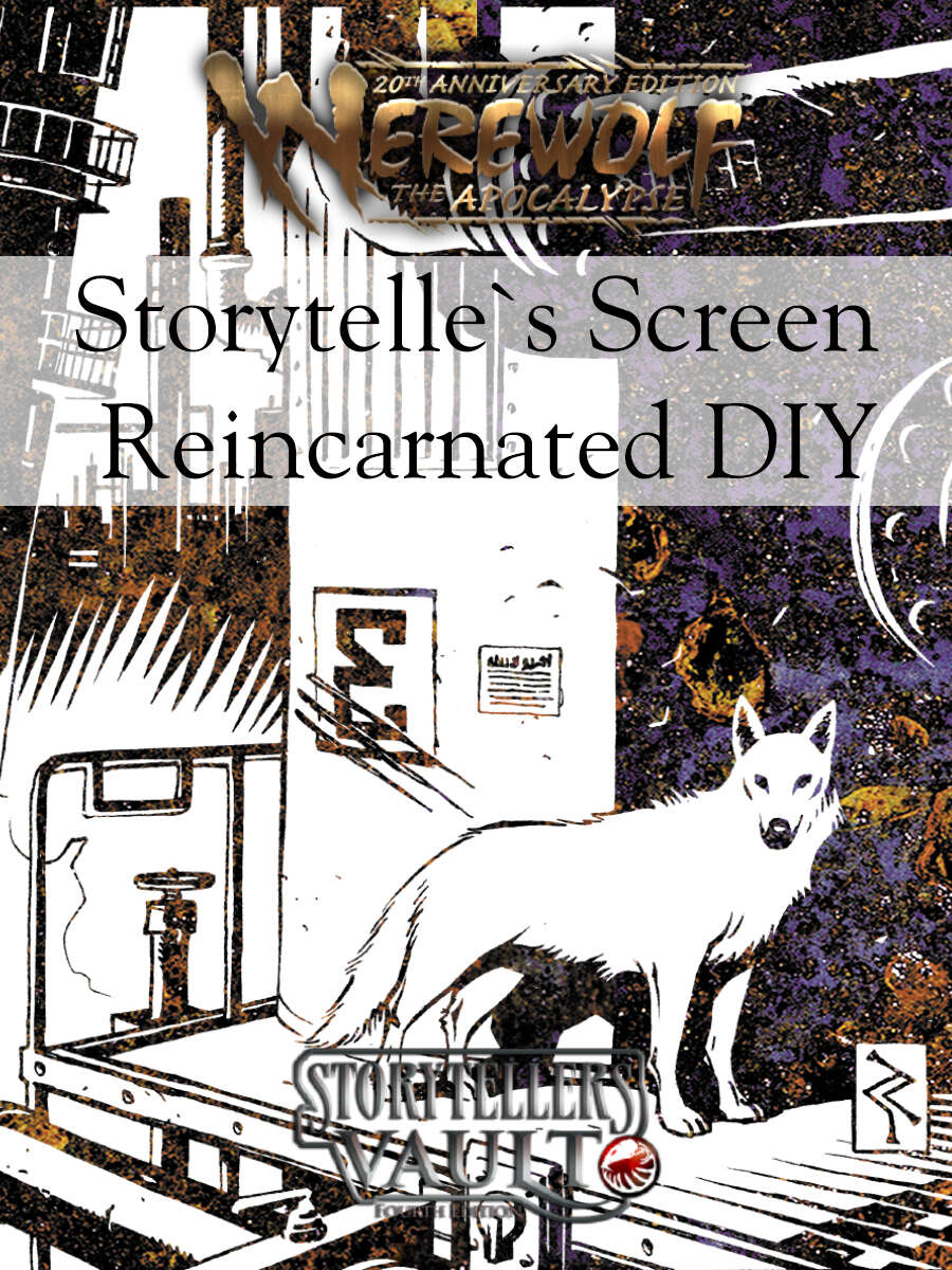 Werewolf 20th Storyteller´s Screen Reincarnated
