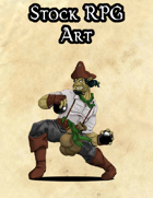 Stock Art - Ogre Pirate