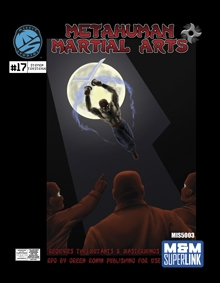 Metahuman Martial Arts on RPGNow.com
