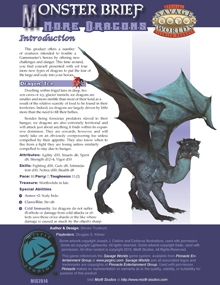 Monster Brief: More Dragons on DriveThruRPG.com