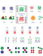 Mini Mahjong Cards