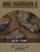 Alien Planetscapes II: Rocky Planet