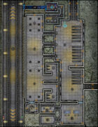 VTT Map Set - #254 Subterranean Speedrail Station